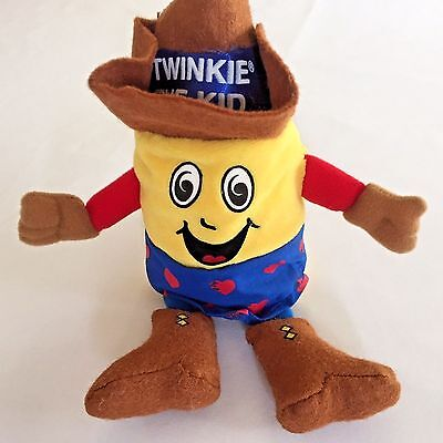 Twinkie The Kid Plush Beanbag Toy 10 Inch 1998 Advertising Food Hostess