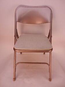 Astonishing Details About Vintage Shwayder Bros Samsonite Folding Chair 2 Chairs Cjindustries Chair Design For Home Cjindustriesco