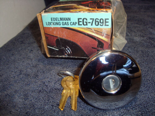 FUEL CAP Locking Gas NEW Edelmann EG-769E AMC American Motors Matador Pacer   D3