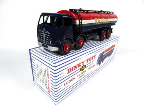 DINKY TOYS 942 MODELLAUTO CAR MB213 LKW Tankwagen Foden l4-Ton Regent