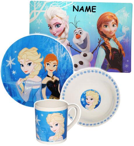"""Frozen /"""" /"""" Disney die Eiskönigin Kindergeschirr /_ Mikro Geschirrset 4 tlg"""