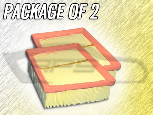 AIR FILTER AF-FIESTA FOR 2014 2015 2016 FORD FIESTA PACKAGE OF TWO