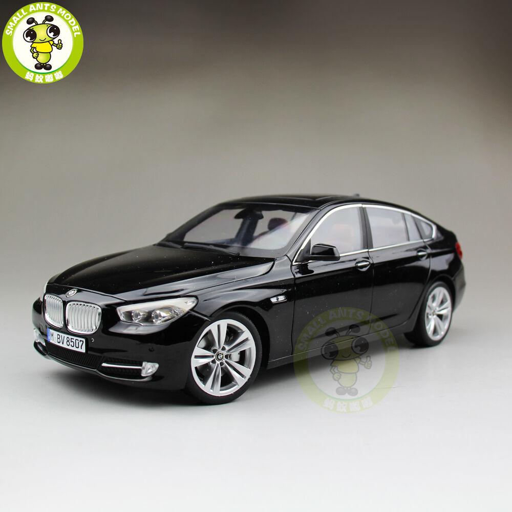 1 18 BMW serie 5 Gran Turismo 5GT F07 xDrive H. Modelo Diecast Modelo Coche Negro