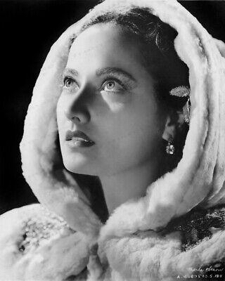 8x10 Print Merle Oberon Beautiful Portrait Lydia 1941 #MO33