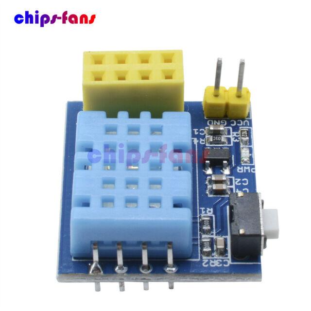 ESP8266 ESP-01/01S DHT11 Temperature&Humidity Wifi Shield Sensor Module  NodeMCU