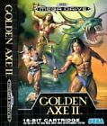SEGA Mega Drive Golden Axe II 2 16-bit Cartridge Game PAL 1991 Great