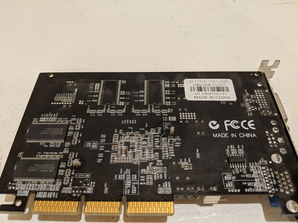 GF FX5200 128M Nvidia