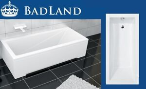 Extrem Effizient In Der WäRmeerhaltung Gratis Füße Schürze Fein Badewanne Rechteck 140x70 Acryl Wanne Ablaufgarnitur