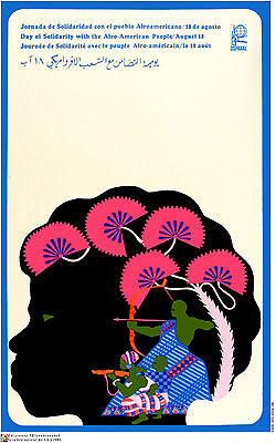 Political cuban POSTER.Afro-American Civil Rights am2.OWS.REvolution Art