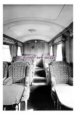 bb1231 - Railway Train Carriage - Triple Vest Car 1st Saloon 1934 - photograph