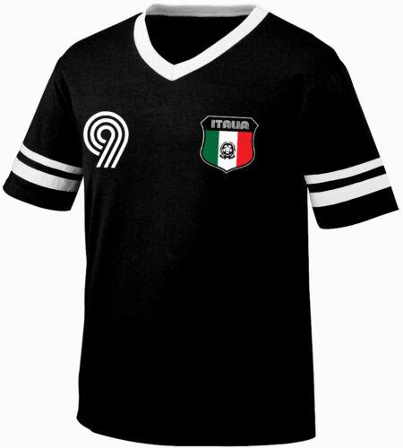 Italy Italian National Country Pride The Blues Gli Azzurri  Retro Ringer T-shirt