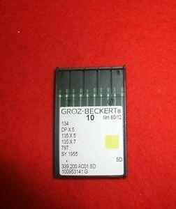 Rundkolbennade<wbr/>ln Groz-Beckert, System 134