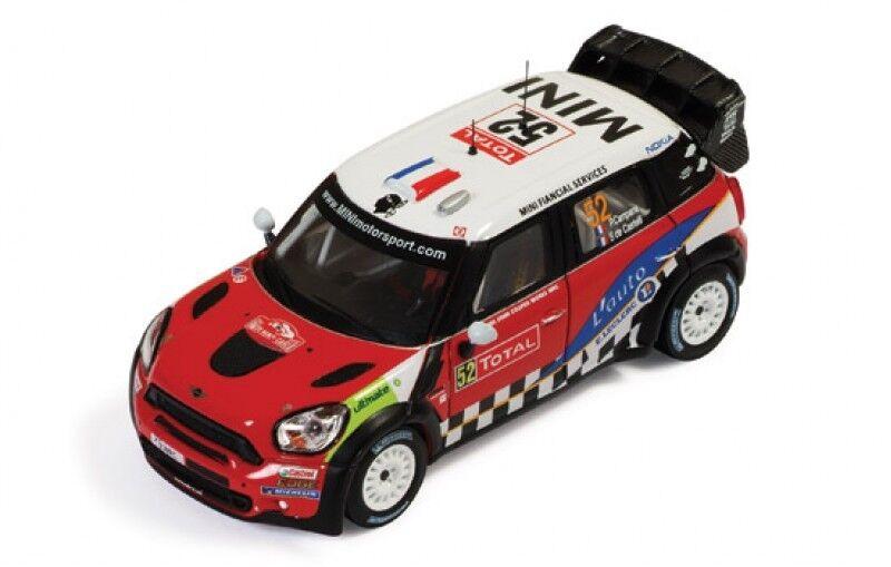 1 43 Mini JCW John Cooper Works Rallye Monte Carlo 2012 P.Campana