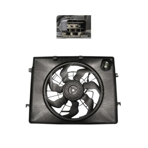 2011 2012 2013 Kia Optima L4 2.4L ONLY Rad /& Cond Fan Assembly Fits