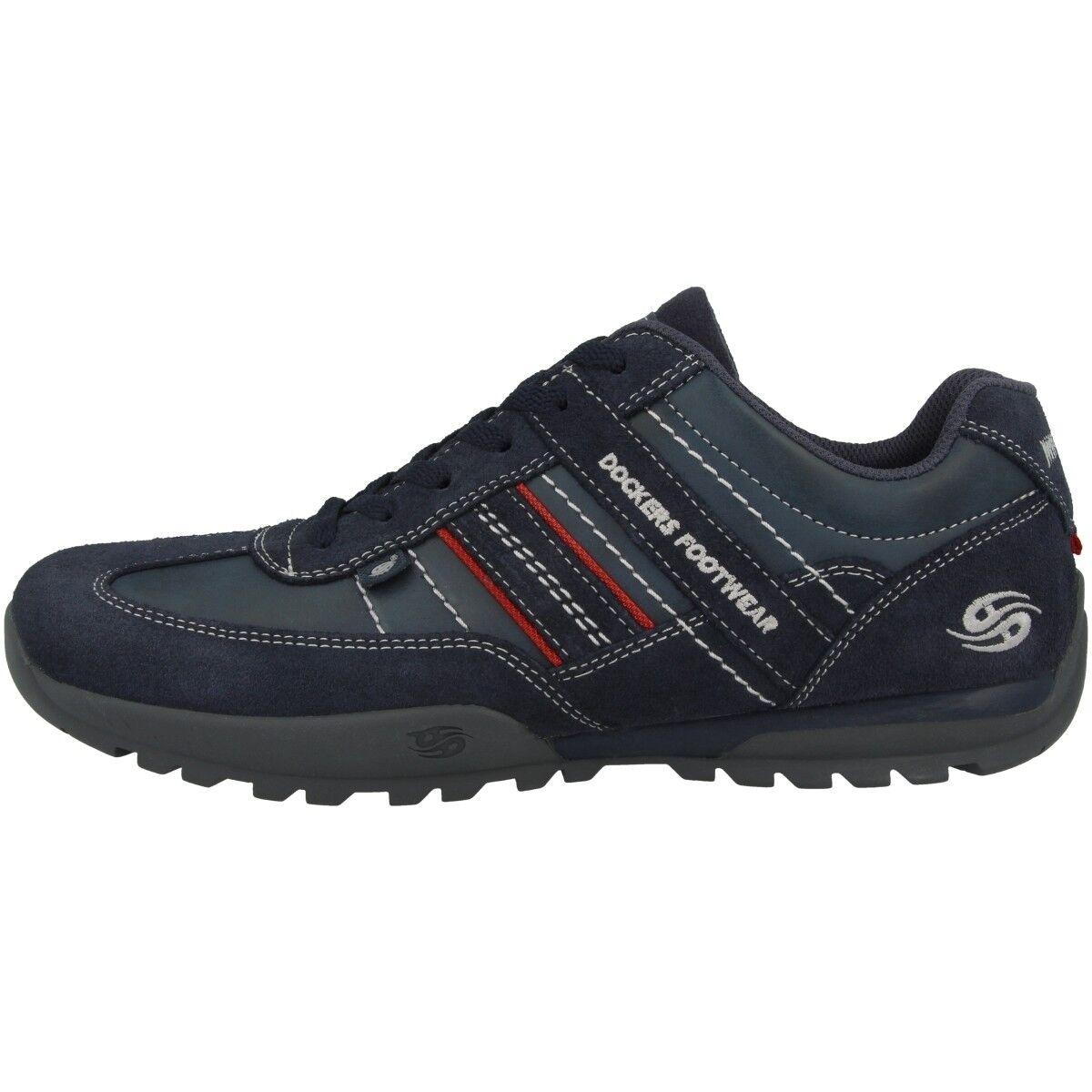 Dockers By Gerli 36HT001 Zapatillas Deportivas Hombre Zapatos de Cordones Azul
