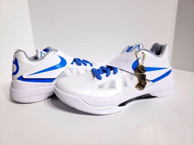 9895a3fcf6a5 Nike Zoom KD 4 IV Ct16 QS Finals Thunderstruck Aq5103 100 Mens Size ...