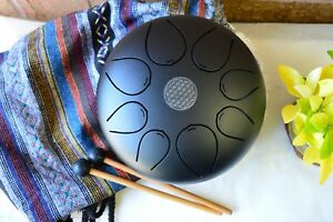 WuYou-Special-Notes-8-034-Steel-Tongue-Drum-Handpan-Tank-FREE-Bag-Mallet