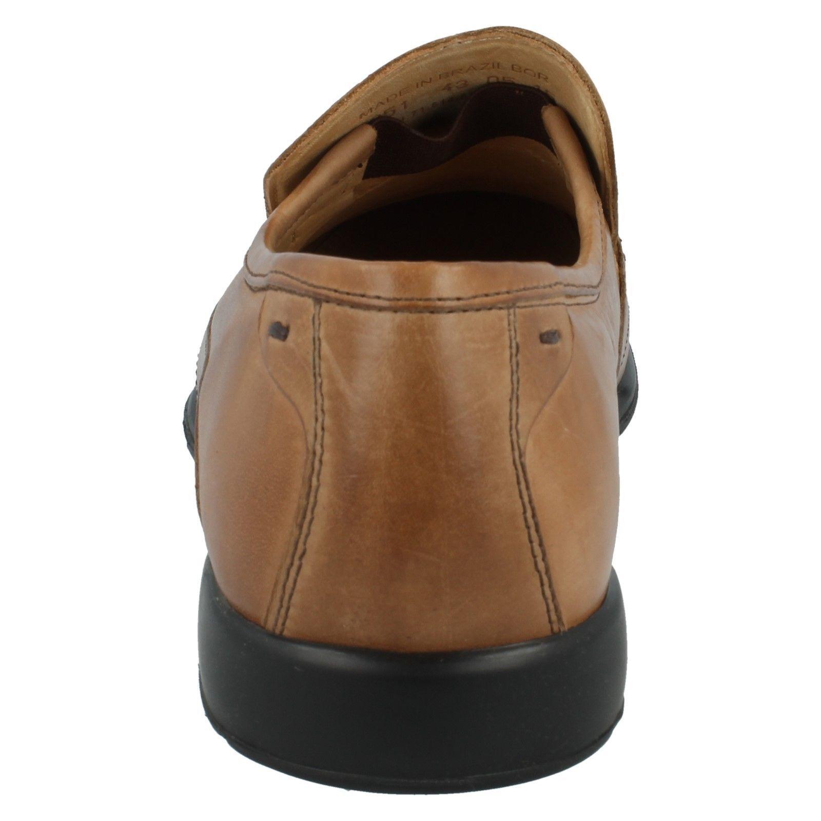 SALE Herren anatomic&co schwarz / Schuhe hellbraun Leder Slip On Schuhe / PETROPOLIS 420b43