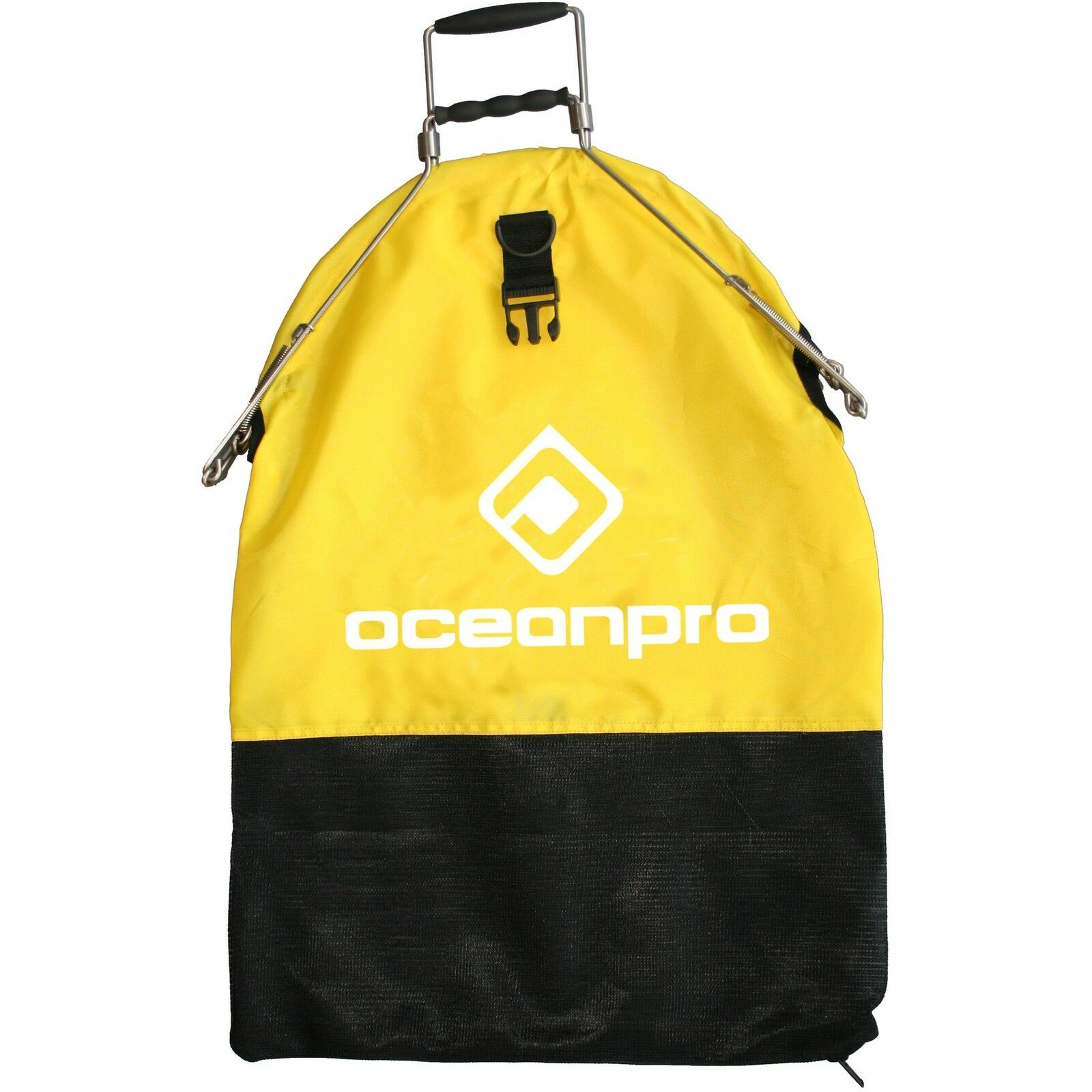 Ocean Pro Catch Bag - Spring Loaded (Yellow)