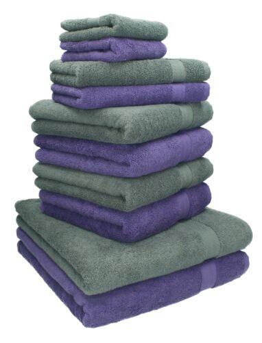 BETZ 10er Serviette Set CLASSIC Duschtuch serviettes invités foulards seiftücher
