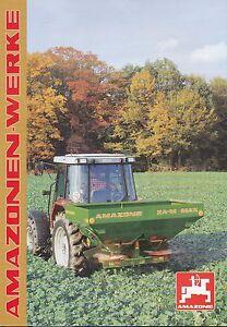 Business & Industrie Amazone Za-m Max Landmaschine Prospekt 11/95 Brochure 1995 Broschüre Katalog Noch Nicht VulgäR