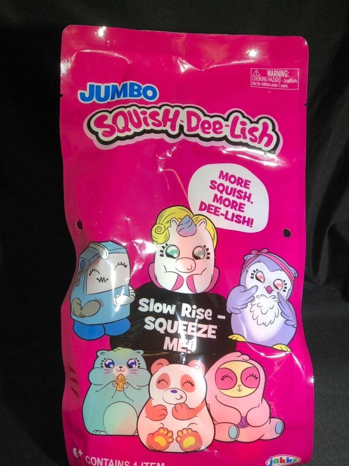 JUMBO SQUISH - DEE - LISH SLOW RISE BLIND BLIND BLIND BAG BRAND NEW FACTORY SEALED 540cad