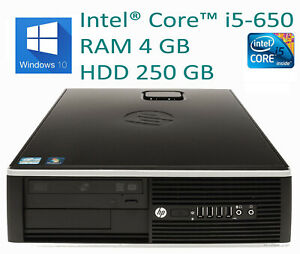 PC-HP-8100-Core-i5-RAM-4GB-W10PRO-Formato-SFF-Caja-Pequena