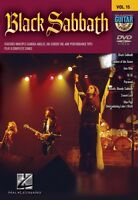 Black Sabbath Guitar Play-along Dvd 000320606