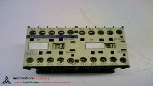 TELEMECANIQUE-LC2K-1601-CONTACTOR-110VAC-9A-3P-149779