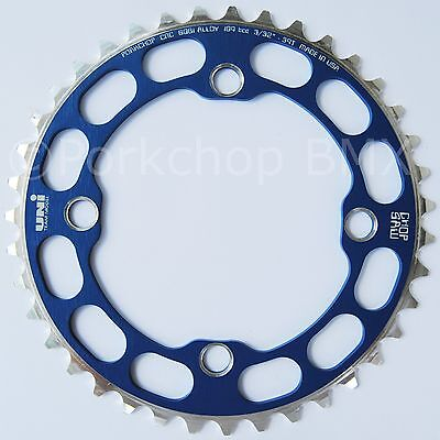 Porkchop BMX Chop Saw I single speed bicycle chainring 44T 110//130mm bcd PURPLE