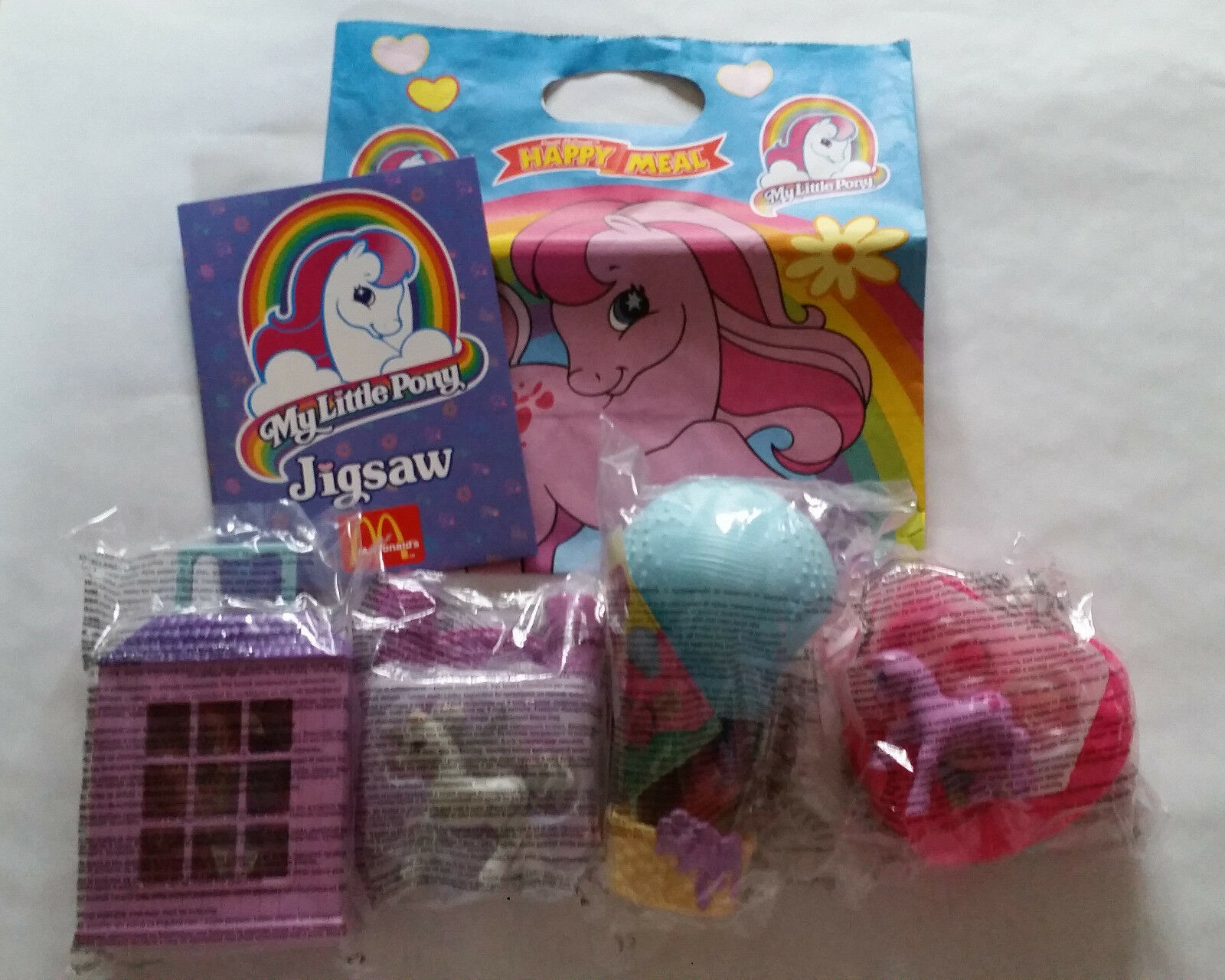 Rare Retro BNIP McDonalds Happy Meal Toy 1999 MY LITTLE PONY Jigsaw G2 Hasbro