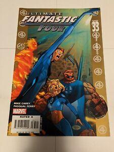 Ultimate Fantastic Four #33 October 2006 Marvel Comics Carey Ferry