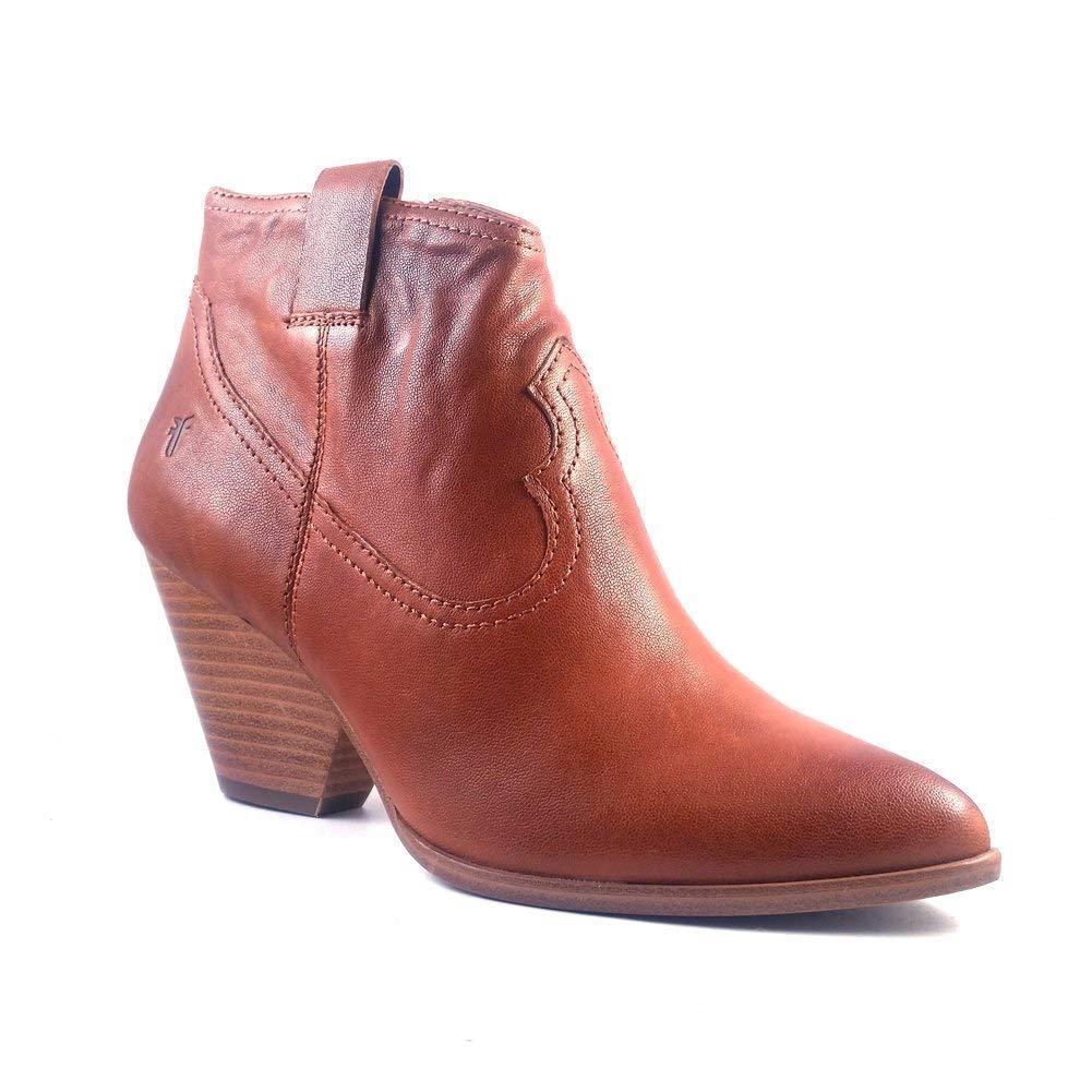 migliore vendita Frye Donna  Reina Ankle Leather stivali avvioies Short COGNAC COGNAC COGNAC - Dimensione US 8M - NWB  benvenuto a comprare