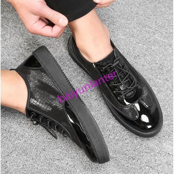 cuirs flats flats flats round toe mocassins chaussures à plate forme british printemps nouveau | Produits De Qualité  3fe819