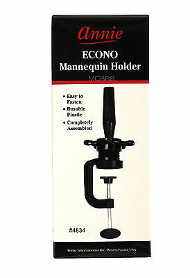ANNIE COSMETOLOGY MANNEQUIN HEAD WIG HOLDER STAND DESK TABLE CLAMP