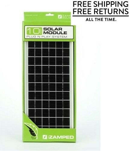 Zamp Solar 10pp Panel For Sale Online Ebay