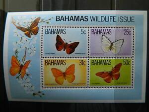 1753 Bahamas Sc 539 A Souvenir Sheet Comme Neuf Original Gum Jamais Charnière Cat 10 $-afficher Le Titre D'origine La DernièRe Mode