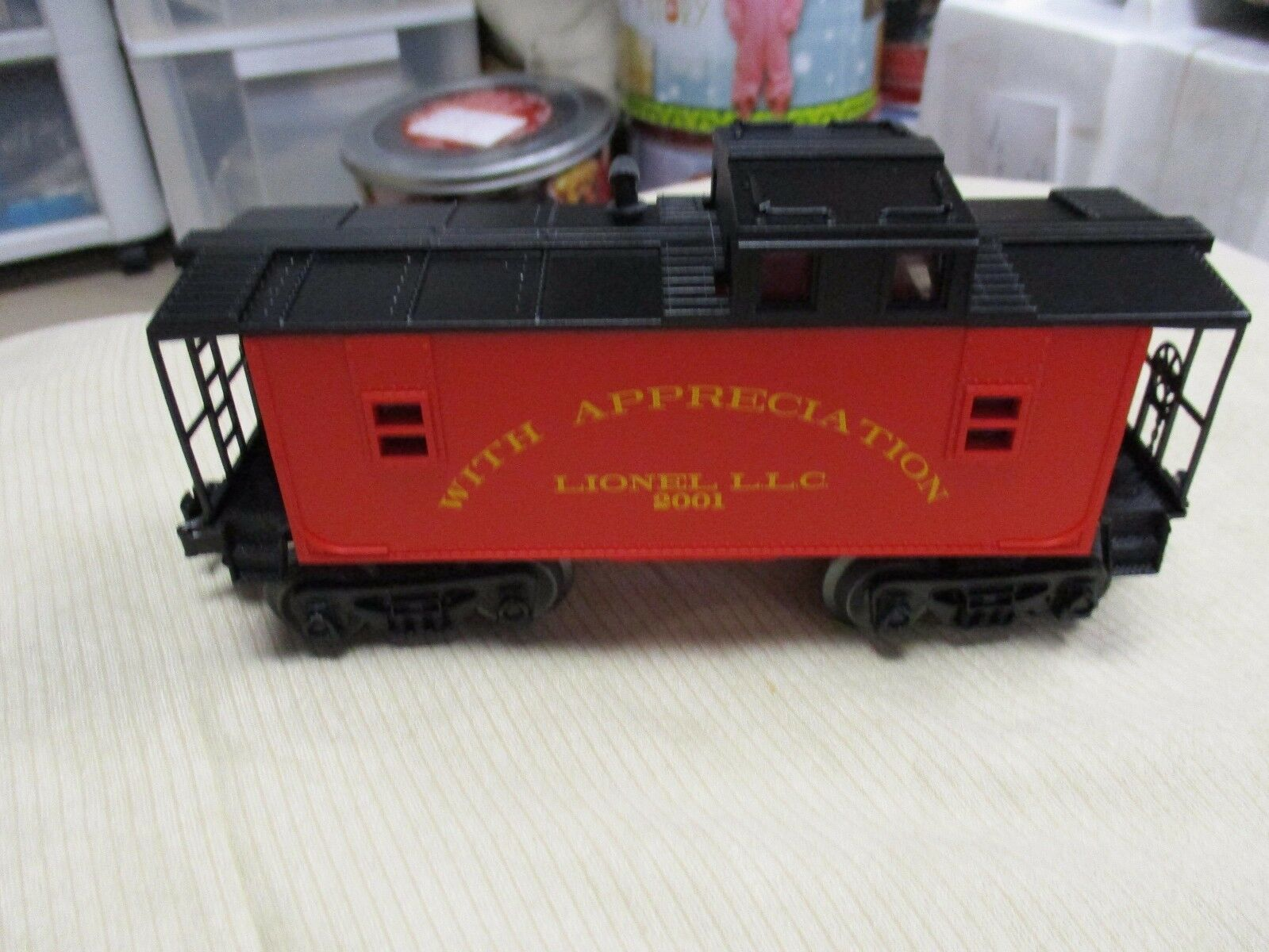 Lionel Employee Caboose From 2001 NIB