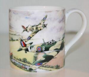 Classic-Spitfire-Plane-Mug-by-Leonardo-Fine-China-Mug-Brand-NEW-in-gift-box