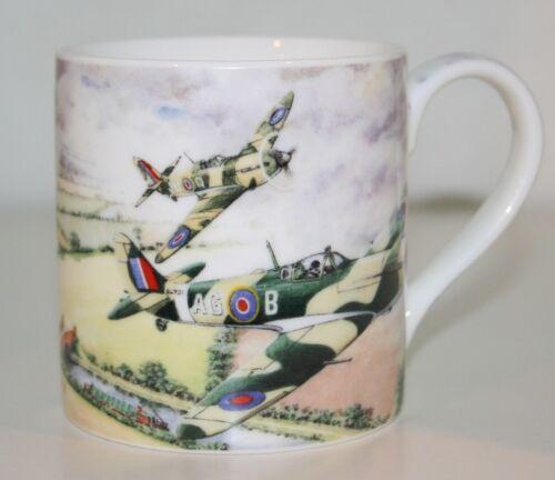 Brand NEW in gift box Classic Spitfire Plane Mug by Leonardo Fine China Mug