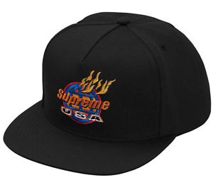 Supreme SS17 Supreme SH*T Camp Cap CLASSIC Box Logo Jacquard Hat 5-Panel BEANIE