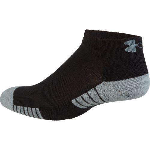 3 PK Under Armour UNISEX  Heat gear Tech Lo Cut Socks M L XL