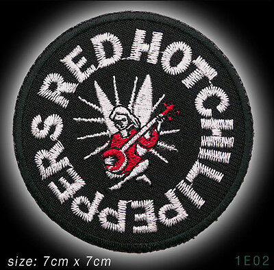 RED HOT CHILLI PEPPERS - Band Embroidered Iron-On / Sew-On Patch - NEW - #3E02