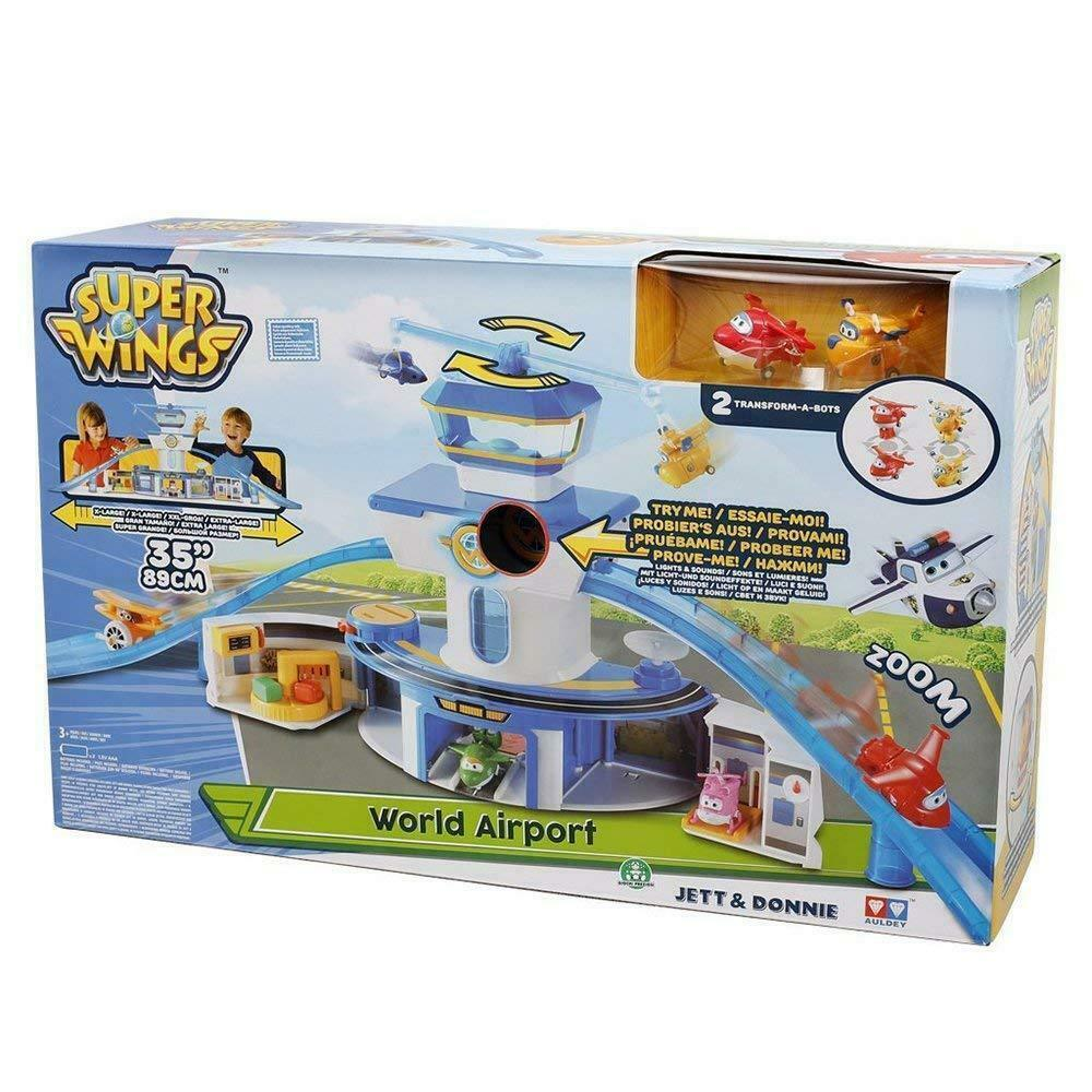 SUPERWINGS PLAYSET TORRE DI CONTROLLO