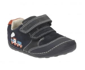 Clarks Tiny Tom Infant Boys Navy Shoe