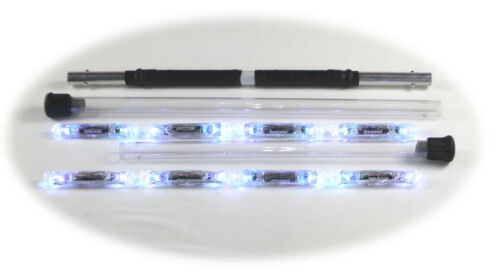 5ft Polycarbonate Ends 6in LED Staff 8 Light Modular With UltraLight