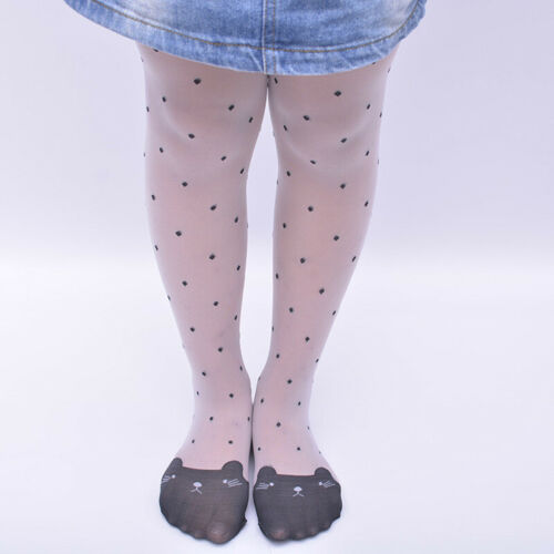 Baby Girl Long Sock Stocking Cat Dot Hosiery Pantyhose Socks Tights  Acces