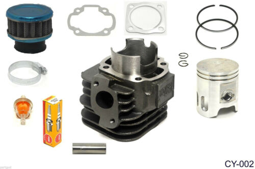 CYLINDER PISTON KIT GASKETS CLIPS FOR DS 90 BOMBARDIER DS90 2002-2006