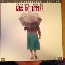 Mrs. Doubtfire -  Laserdisc Boxset Buy 6 For Free Shipping