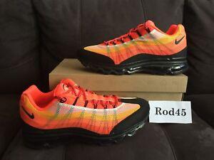 Corriendo Negro Max Nike Dyn 95 Rojo 5 9 Fw Air Blanco w6xgwqRv